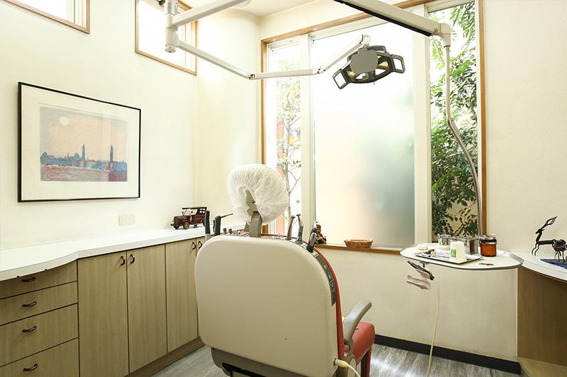 当院の診療室は全て個室になっています。